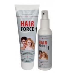 HAIR FORCE ONE SHAMPOO & LOTION - Accélère la croissance des cheveux jusqu'à 152%