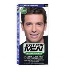 JUST FOR MEN - SHAMPOOING COULEUR Couleur: Moyen-foncé H40